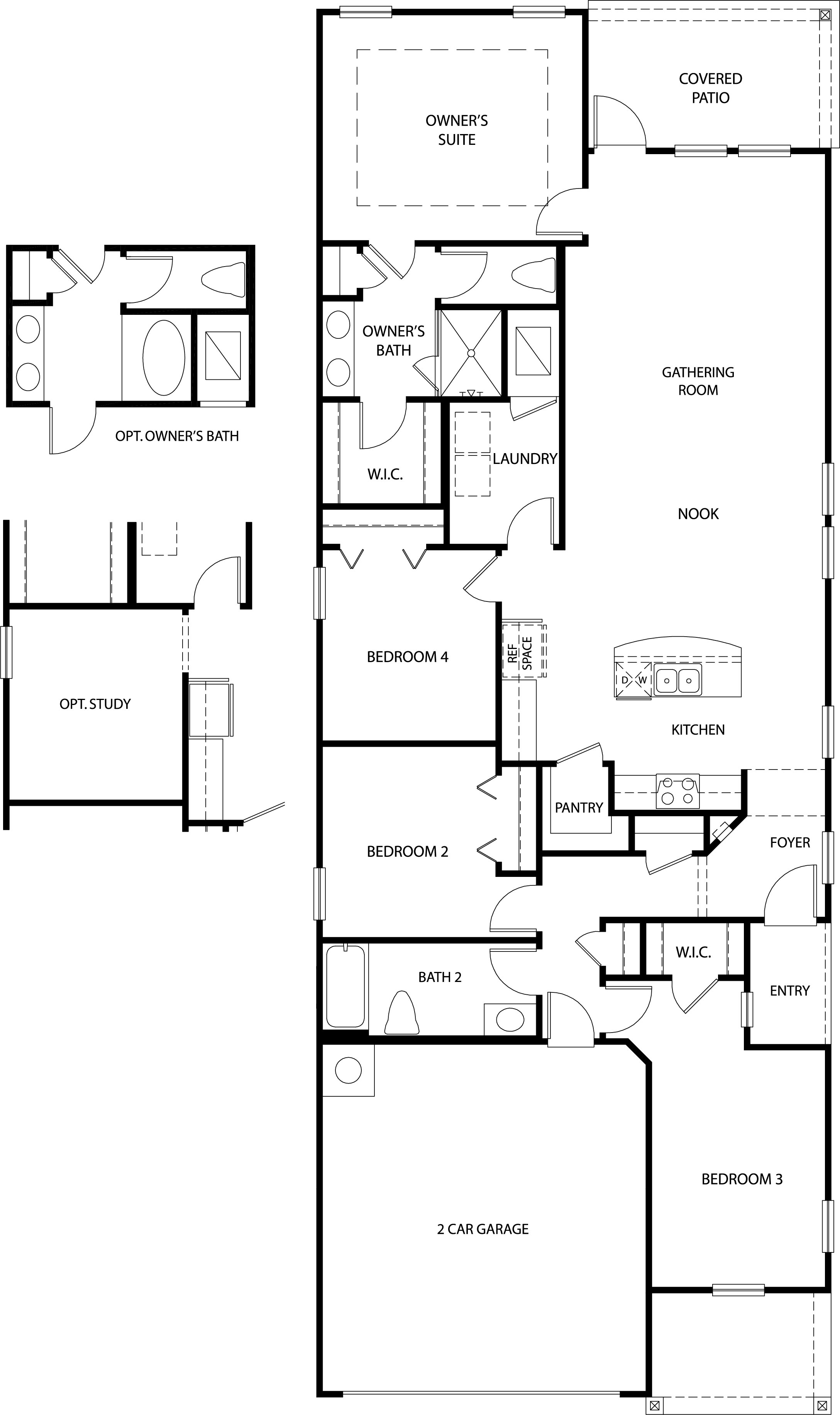 D.R. Horton Renderings & Floorplans