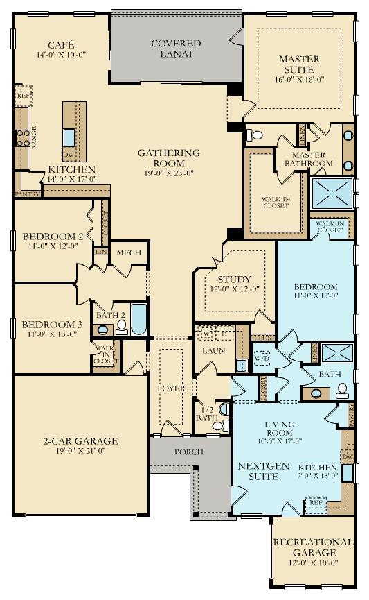 Lennar Renderings & Floorplans | GreyHawk